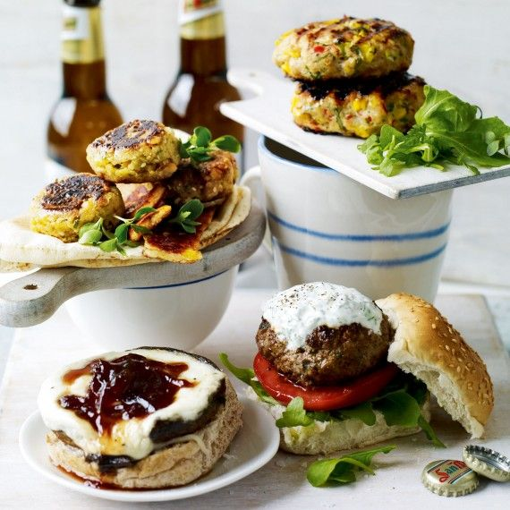 Serve up tasty vegetarian burgers for dinner tonight - try our easy ...