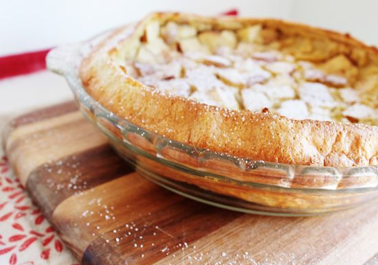 Dutch Apple Pancake Recipe — Dishmaps