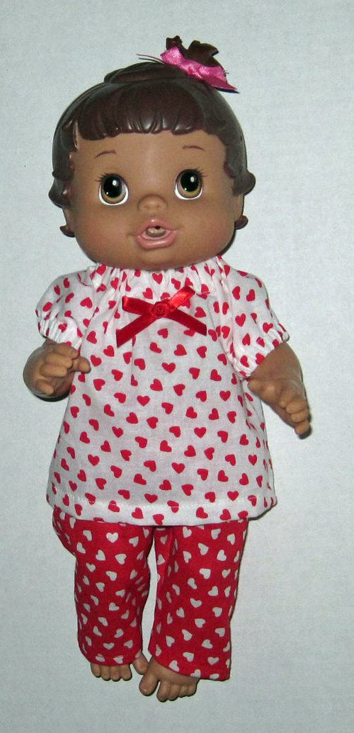 Baby Alive Doll Clothes Sweet Heart Set Fits 12 13 Inch