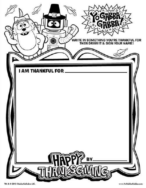 Yo Gabba Gabba Birthday Coloring Pages Coloring Pages