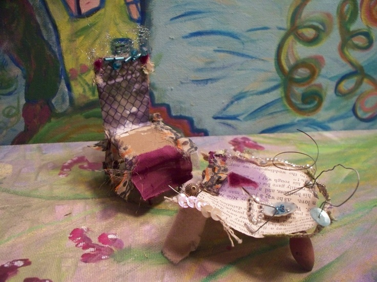 SALE Fairy Furniture The Patchwork Fairys Afternoon Via Etsy