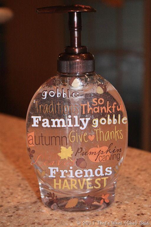 Thanksgiving Soap
