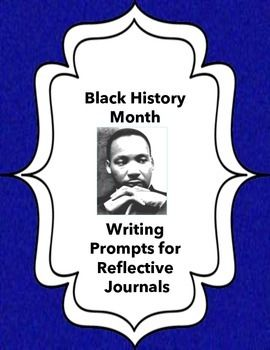 black history writing prompts