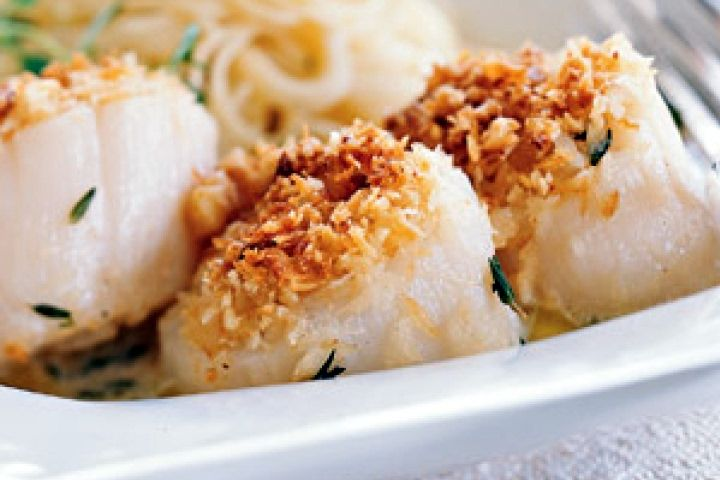 Baked Scallops Recipe | HCG Phase 3 Recipes | Pinterest