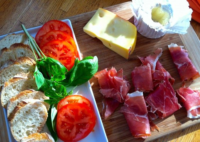 More like this: cheese platters , cheese plates and prosciutto .