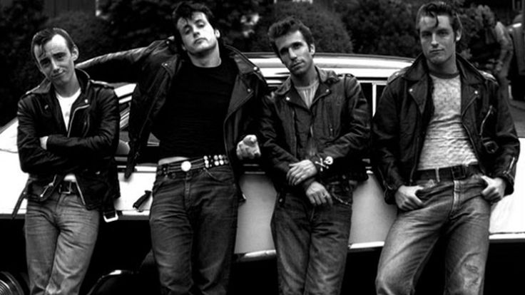 1950s greaser fashion