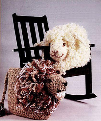 Ravelry: Lion & Lamb Pillows: Lamb pattern by Lion Brand Yarn.
