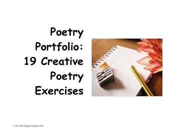 creative writing exercises poetry