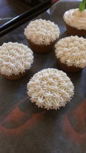 gluten free, refined sugar free white bean cake with italian meringue ...