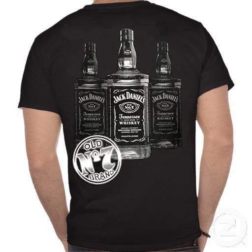 jack daniels 3 bottles mens t shirt mens t shirts and. Black Bedroom Furniture Sets. Home Design Ideas