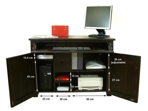 computer desk in living room home spun fun pinterest