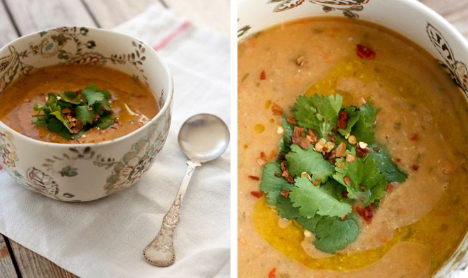 Red Lentil Soup with Lemon | Things to Make | Pinterest