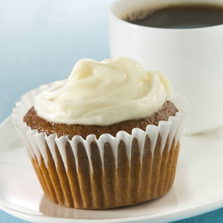 Gingerbread Cupcakes with Cream Cheese Frosting | Recipe