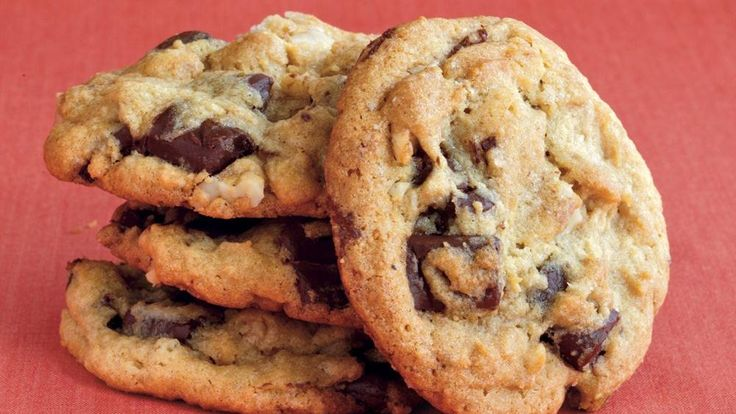 ... chocolate and walnut cookies – perfect dessert for a crowd