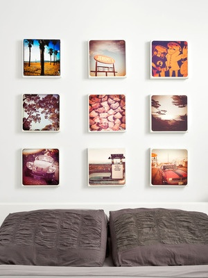 "8"" x 8"" or 10"" x 10"" canvas prints of your favourite Instagram canvases"