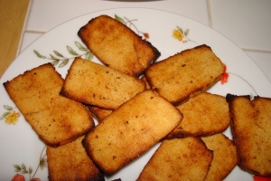 Baked Tofu With White Wine, Mustard, And Dill Recipe — Dishmaps