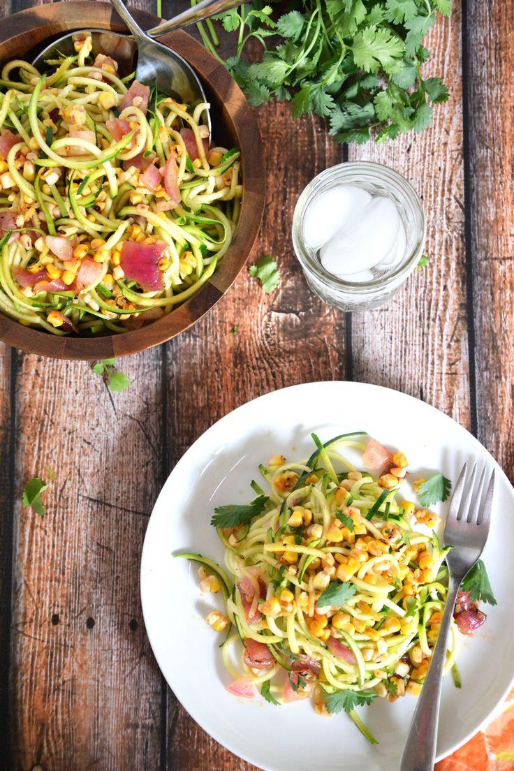 Roasted Corn & Zucchini Salad with Chili Lime Vinaigrette | The ...