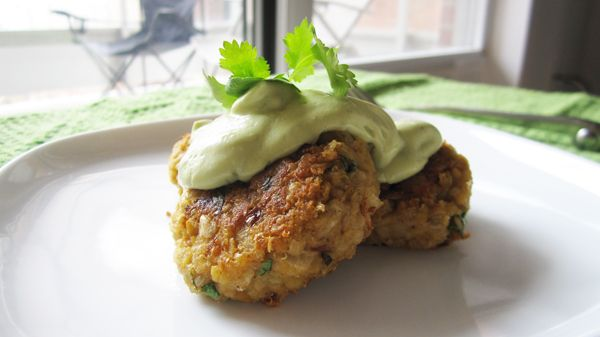 MM - Quinoa Falafel with Avocado Tahini Dressing (Vegan, Gluten-Free)