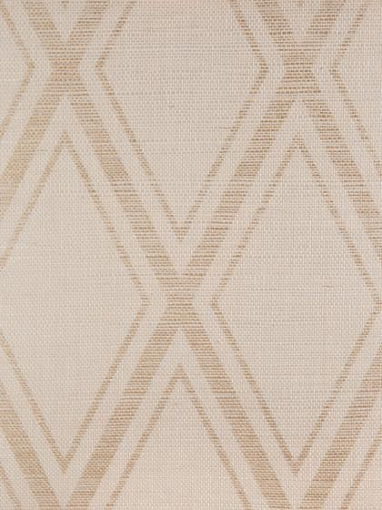 Holland & Sherry - printed grasscloth wallpaper