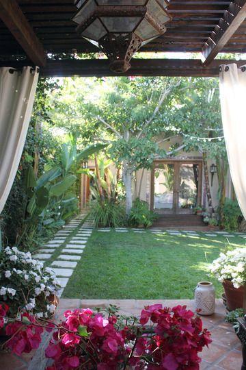 Apartment Backyard Ideas pinɢᴇᴏʀɢɪᴀ on in the garden | pinterest