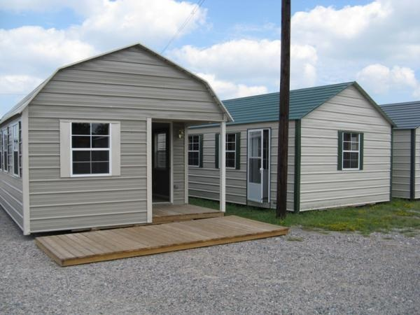 2 Different Cabin Styles Available Storage Buildings