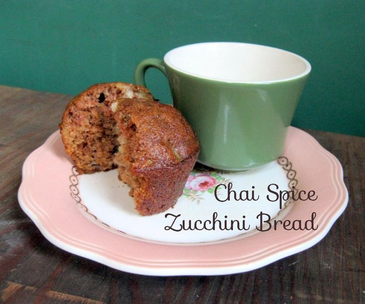 ... carrot banana and raisins with chai spices. Chai spice zuccini bread