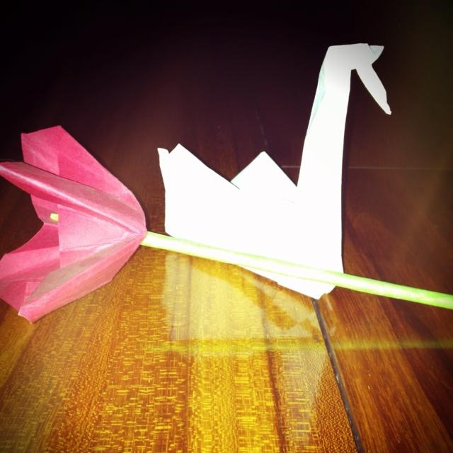 how to make an prison break origami crane