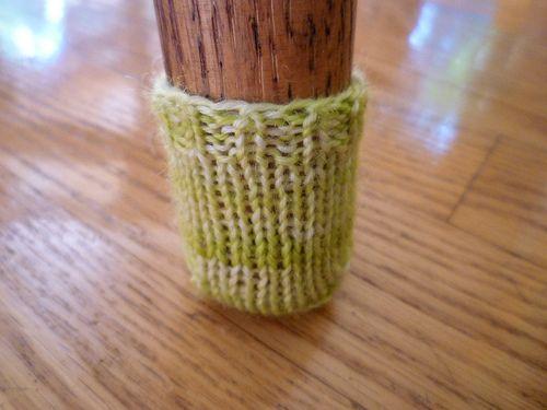 knit chair bootie socks Stitch the stress away Pinterest