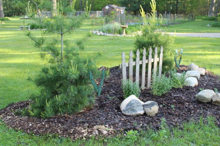 Flower Bed Picket Fence Rescue at the Small House
