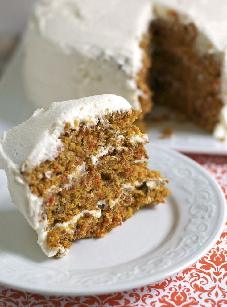 Carrot Cake Gluten Free Dairy Free | Gluten- and dairy free Sweets ...