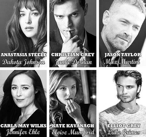 Some cast members | ♥My Fifty Shades of Grey♥ | Pinterest