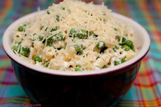 Pasta with Peas and Ricotta | Cooking | Pinterest