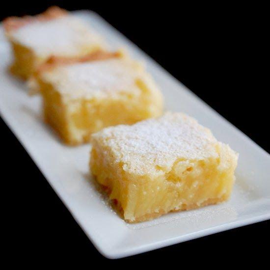 Meyer lemon bars | Food - Dessert | Pinterest