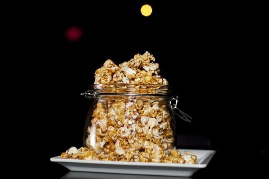 Recipe for spicy caramel popcorn