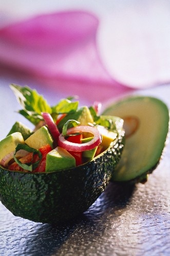 Avocado and tomato salad | Food & Drink | Pinterest
