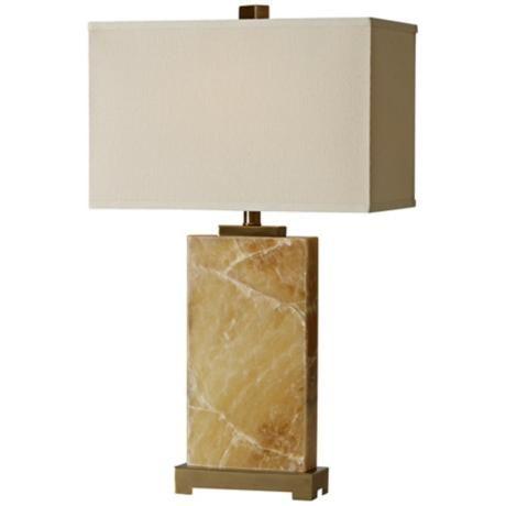 raschella solid marble base table lamp. Black Bedroom Furniture Sets. Home Design Ideas