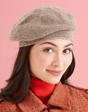 Crochet Beret Hat Pattern Easy : Easy Crochet Beret: free pattern
