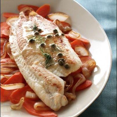 Alaska Sole Piccata | Seafood Recipes | Pinterest