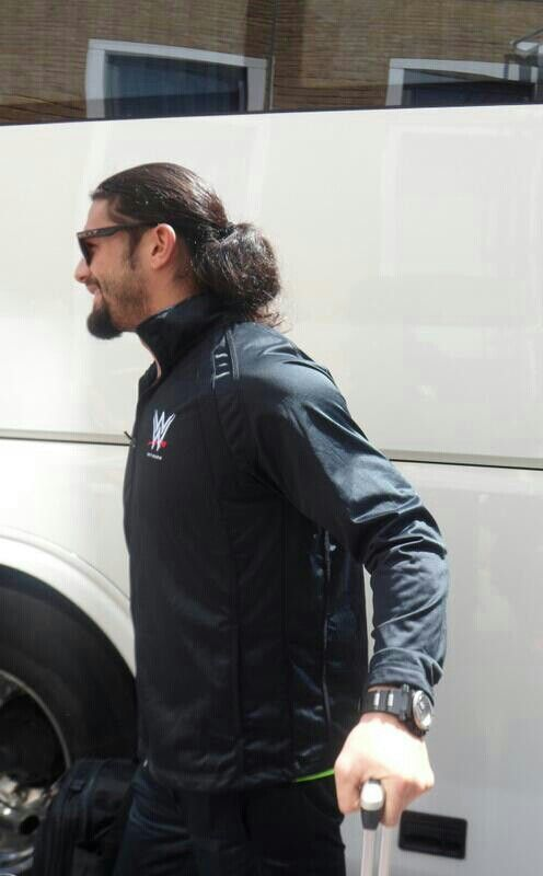 Roman Reigns (look at that ponytail)