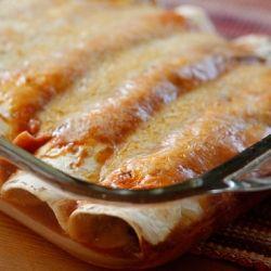Skinny Turkey and Black Bean Enchiladas | COOK : Casseroles & Potluck ...