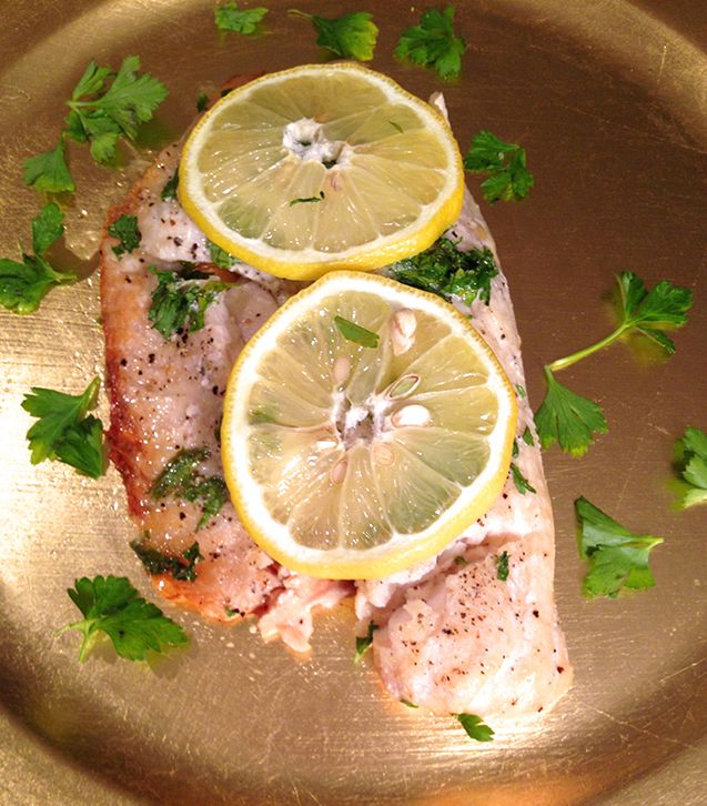 Lemon Garlic Baked Tilapia. Quick, simple and healthy dinner option.