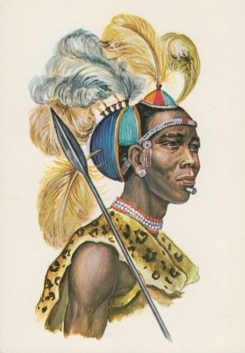 African Warrior Tattoos for Men
