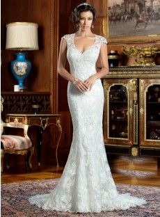 Lace Trumpet-Mermaid Wedding Dress