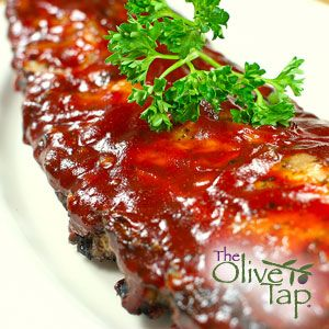 Pineapple Pomegranate Barbecue Sauce | The Olive Tap Recipes