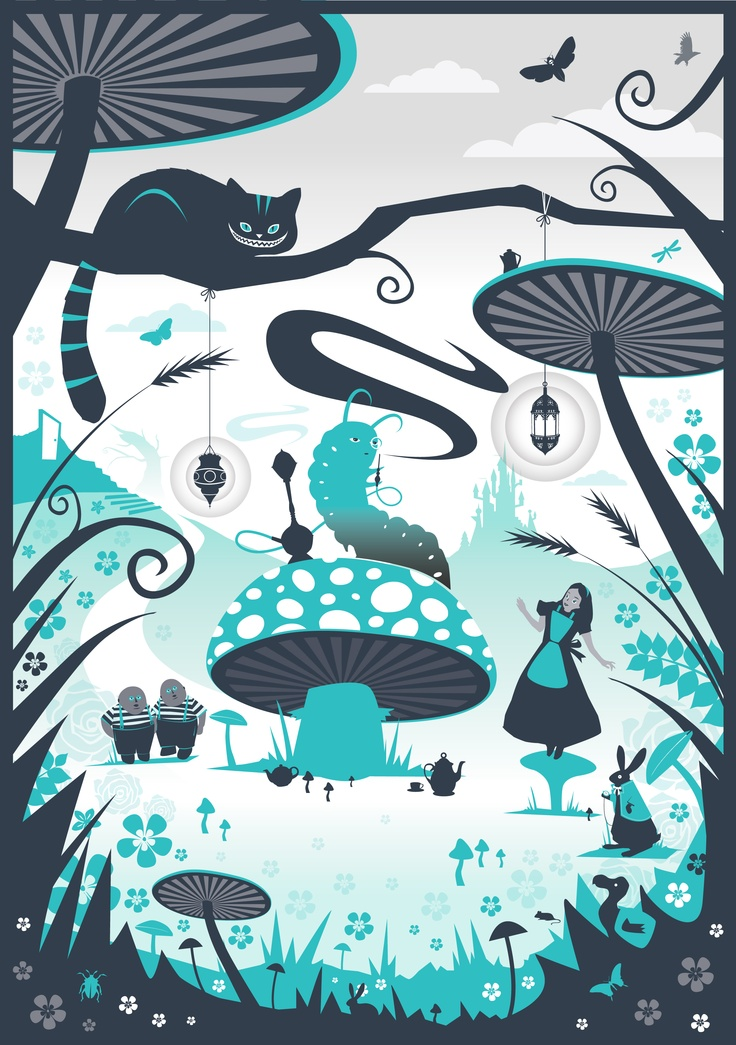 Alice In Wonderland Alice Decor Pinterest