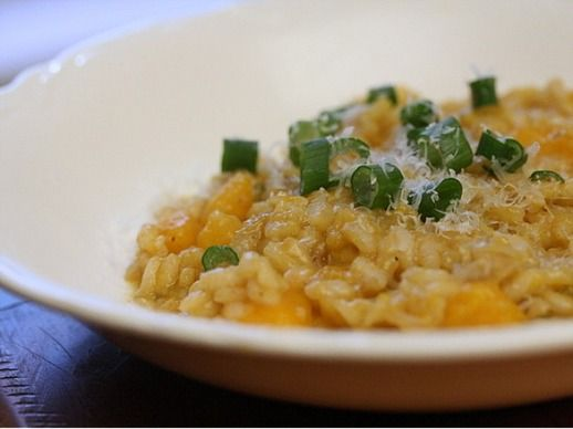 Eat For Eight Bucks: Butternut Squash and Scallion Risotto | Recipe