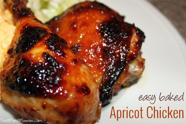 Easy Baked Apricot Chicken | Favorite Recipes | Pinterest