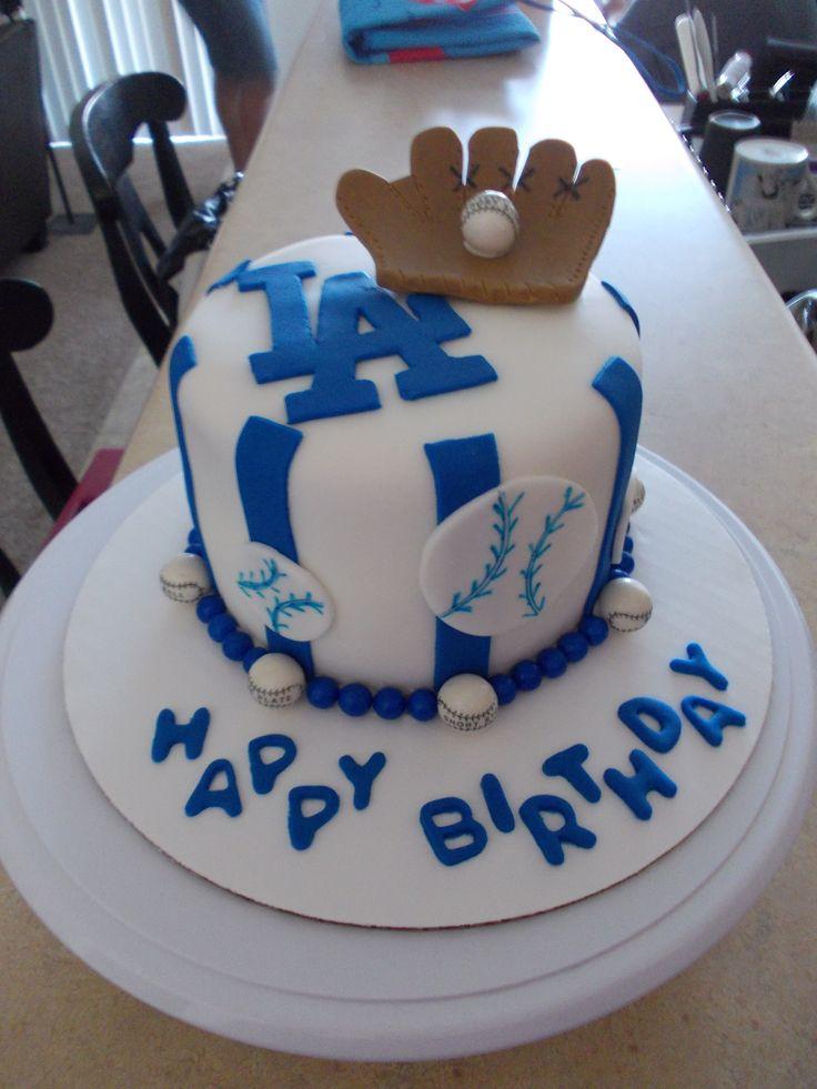 Dodgers Cake Ideas