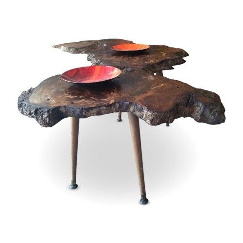 Walnut Slab Wood Coffee Table Natural Wood Pinterest