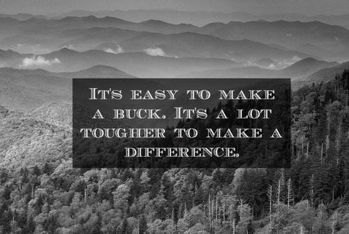 work make a difference quotes  quotesgram
